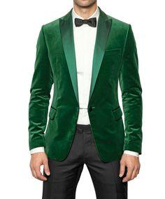Luck of the Irish- Velvet Tuxedo