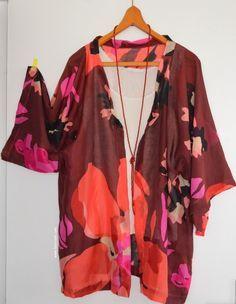 fea02ea1988e Tuto Kimono simple Couture Tutoriel, Tutos Couture, Couture Facile, Couture  Tricot, Mode