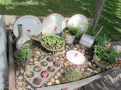 Kitchenware gardening