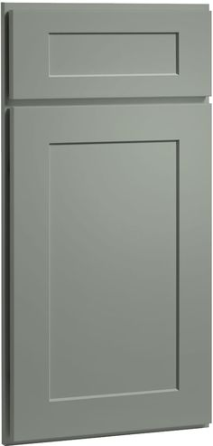 "@Lisa Phillips-Barton D  Rockford Doors | CliqStudios.  Color is called ""harbor"".  Is this gray too light for you?"