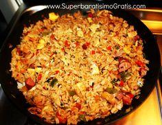 Receta de arroz chino