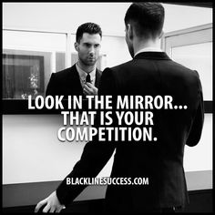If you constantly are competing with others you can eventually become bitter. But if you only compete with yourself you become better! Happy Monday! #BlackLineSuccess #BeTheBestYou #Sales #Motivation #SalesTraining #Goals #entrepreneur #Leader #MillionaireMind BLACKLINESUCCESS.COM by blacklinesuccess
