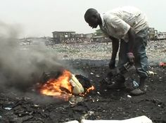 Film Reveals the Horrors of One of the World's Largest E-Waste Dumps ... RECYCLE /;)