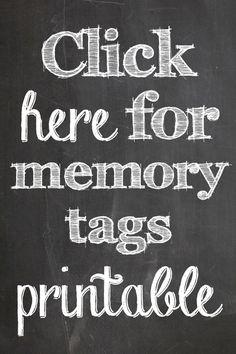 Memory Jar Free Printable   Retirement   Pinterest ...