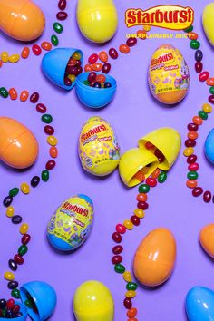 Make this Easter unexplainably juicy. Plastic Easter Eggs, Easter Egg Crafts, Easter Candy, Hoppy Easter, Easter Holidays, Thanksgiving Decorations, Easter Baskets, Holiday Crafts, Crafts For Kids