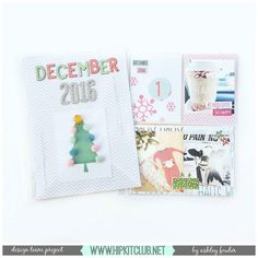 Are you doing a December Daily this year? Designer @ashleylaurabu shares how she created her gorgeous cover and first 2 pages all using the December Documented kit shipped with the #november2016 #hipkits!! @hipkitclub @cratepaper #snowandcocoa #hkcexclusives #exclusives #hipkitexclusives #hipkitclub #decemberdaily #documentdecember #cover #papercrafting #projectlife #pocketpages #kitclub #scrapbookingkitclub