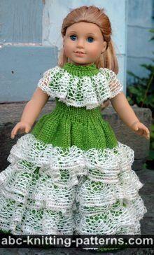 Pour les tricoteuses anglophones des modèles gratuits pour les poupées ou pour…