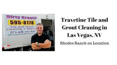 Travertine Tile and Grout Cleaning in Las Vegas, NV - YouTube