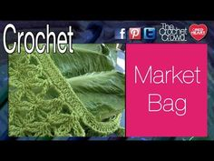 How To Crochet A Market Bag - YouTube