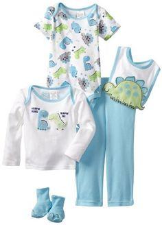 Baby Togs Baby-Boys Newborn Dinosaur 5 Piece Bib Set, Blue, 0-3 Months Baby Togs,http://www.amazon.com/dp/B00BBTWJ2Q/ref=cm_sw_r_pi_dp_u-7Wrb8DBAA041B7