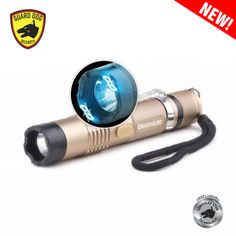 Electrolite Gold Mini Stun Gun Flashlite
