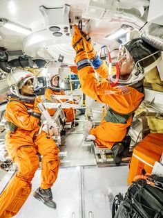 Astronauts Test Orion Docking Hatch For Future Missions Engineers and astronauts conducted testing in a representative model of the Orion spacecraft at NASAs Johnson Space Center in Houston to gather the crew's feedback on the design of the docking hatch and on post-landing equipment operations. August 02 2016