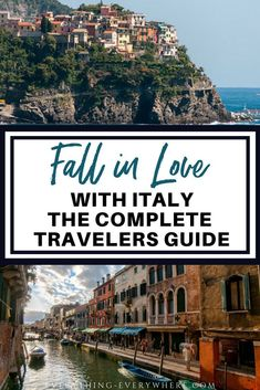 Travel to Italy Italy is full of so many beautiful places. Check out our complete travel guide on Italy includes must-see places and things you need to know! Italy Travel Tips, Travel Destinations, Big Ben, Beautiful Places To Visit, Amazing Places, European Destination, Travel Usa, Travel Europe, European Travel