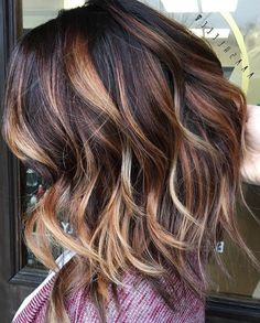 35 Short Ombre Hair Color Ideas for Brunettes That Are Trending for Short Ombre Hair Are you looking for short hair ombre? Then these 35 short ombre hair color ideas for brunettes that are trending for 2019 will be yo. Ombre Hair Color, Hair Color Balayage, Cool Hair Color, Blonde Ombre, Red Blonde, Dark Brown Blonde Balayage, Balayage Highlights, Purple Hair, Blonde Color