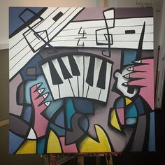 Orchestration by #reddito #art #paint #acrylicpainting #frenchart #frenchartist #painters #artist #artcommunity #artcontemporain #artcontemporary #artnewyork #artnewyorkcity #artwork #musée #arts_gallery