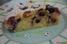 Gâteau au yaourt et myrtilles pour 8 personnes - Recettes Elle à Table