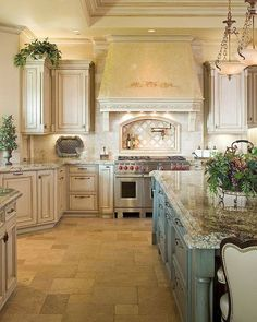 40+ amazing french country kitchen modern design ideas (42)