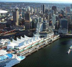 Vancouver, B.C. Cruise Ship Terminal