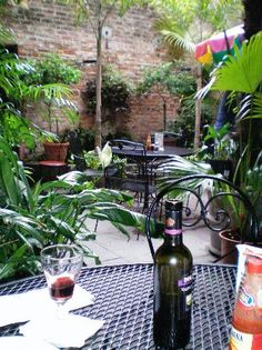 Napoleon House, 500 Chartres St. NOLA. Nice patio weather permitting