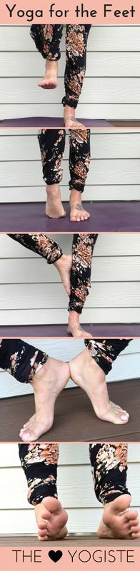 Yoga Keeps you Young: Yoga for your feet - DownDog Diary