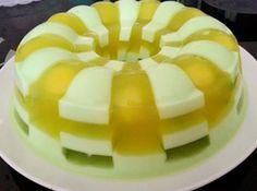 Resep Puding Domino Rasa Melon Markisa Terkini Makanan Makanan Manis Kue Kelapa
