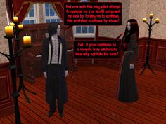 #courtleymanor #gothic #webcomic #goth #sims #psychics #vampires #messydivorce