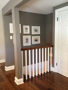 remove/open up wall down to basement?? love the idea...  from www.mygardendiaries.com