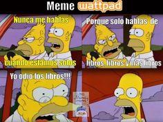 Memes Wattpad y lectores. – [Odiar libros] Memes for cartoonists, wattparians, writers and readers. I Love Books, My Books, Book Memes, Marvel Memes, Book Fandoms, Book Of Life, Hush Hush, Funny Moments, Book Lovers