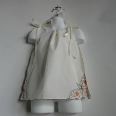 Baby Girl Pillowcase Dress Upcycled Baby Girls by PlanetPlayground, $32.00