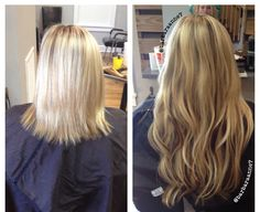 Highlights Lowlights Kenra Color Blonde DreamCatcher Hair Extensions Long