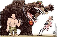 Cartoon: Putin vs. Obama
