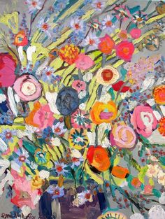 Floral No. 32 by Emily Fox King on Artfully Walls