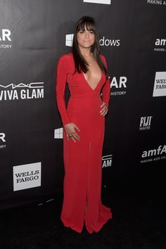 Michelle Rodriguez in red