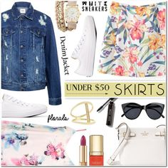how to wear mini skirts with sneakers 14