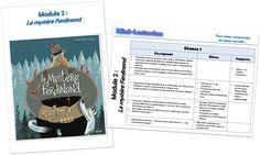 Teacher Charlotte: Stratégies de compréhension de lecture: MODULE 2 de Mini-Lectorino&Lectorinette: Le mystère Ferdinand