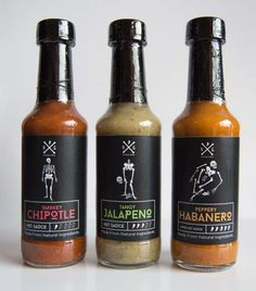 Hot Sauce Packaging – 50 Amazing Hot Sauce Packaging Designs Informations About Hot Sauce Packaging – 50 Amazing Hot Sauce Salsa Picante, Food Packaging Design, Packaging Design Inspiration, Spicy Sauce, Habanero Sauce, Bottle Packaging, Food Labels, Stuffed Hot Peppers, Bottle Design
