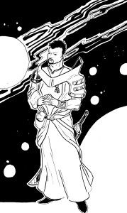 Early design of Sparlock of the Multiverse.