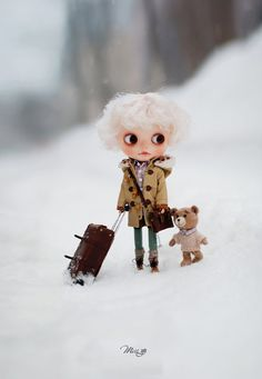 Miss yo Winter Coat with Wooden Buttons for by MissBlythe2012, $35.90