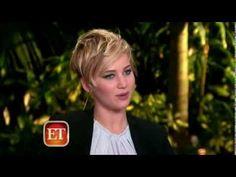 ET Entertainment Interviews Josh Hutcherson and Jennifer Lawrence 11/08/...
