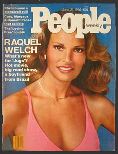 1976 People Magazine Cover ~ Raquel Welch
