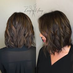 Hair By Long Hong - Los Gatos, CA, United States. Rich Chocolate Brown