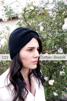 DIY Turban Beanie
