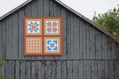 Central Kentucky Barn Quilt Trail - Hobbies on a Budget Barn Quilt Designs, Quilting Designs, Barn Quilts, Barns, Quilt Blocks, Wood Crafts, Kentucky, Trail, Hobbies