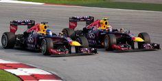2013 Red Bull RB9 - Renault (Sebastian Vettel & Mark Webber)
