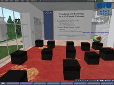 UCLA Library in Second Life - Leigh Harris' slide show