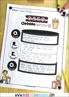 How I teach Opinion Writing in the Primary Grades - Raise the Bar Reading Writing Lessons, Kids Writing, Teaching Writing, Writing Skills, Writing Ideas, How To Teach Writing, Primary Teaching, Teaching Ideas, Opinion Writing Second Grade