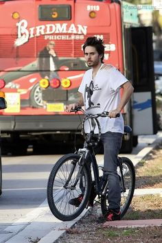 jared leto bike - Google Search