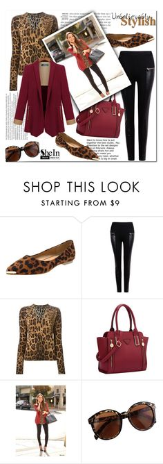 """SheIn #4 (VI)"" by cherry-bh ❤ liked on Polyvore featuring moda, Dolce&Gabbana, Balmain, women's clothing, women, female, woman, misses, juniors y shein"