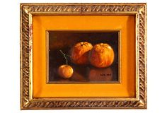 """Trio of Oranges on OneKingsLane.com  Castles and Attics  DeWayne Butler formed Castles and Attics based on his belief that """"it's all about the stuff."""" The thrill of finding obscure pieces worthy of greater attention and sharing them is his passion. He believes the world is a treasure chest full of artistry and that vintage and antique items have stories to tell. Quality offerings and customer satisfaction are DeWayne Butler's goals."""