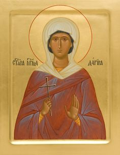 Icon of St Daria of Rome - Hand-Painted Icon from the Workshop of St. Elisabeth…